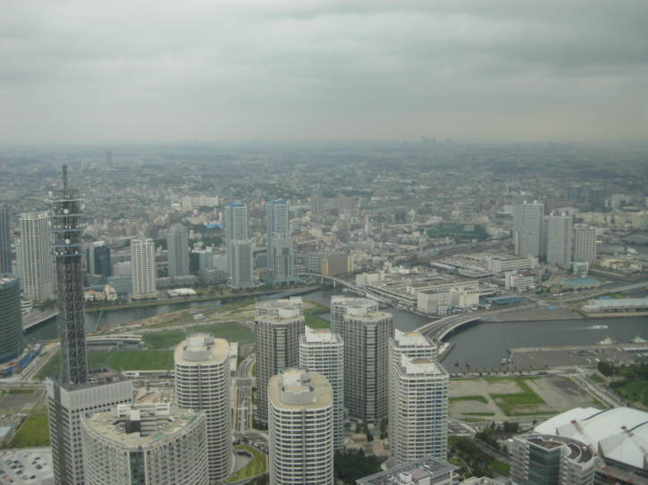 View from the Landmark Tower