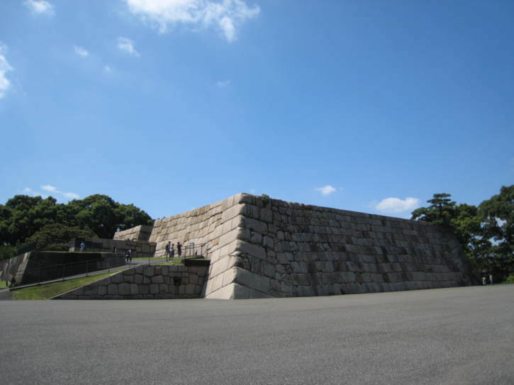 Remains of Edo-period Castle
