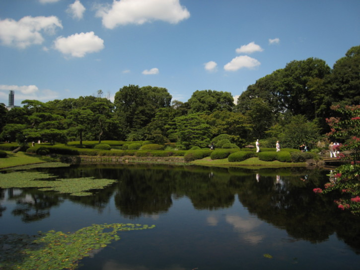 In the Imperial Palace East Gardens