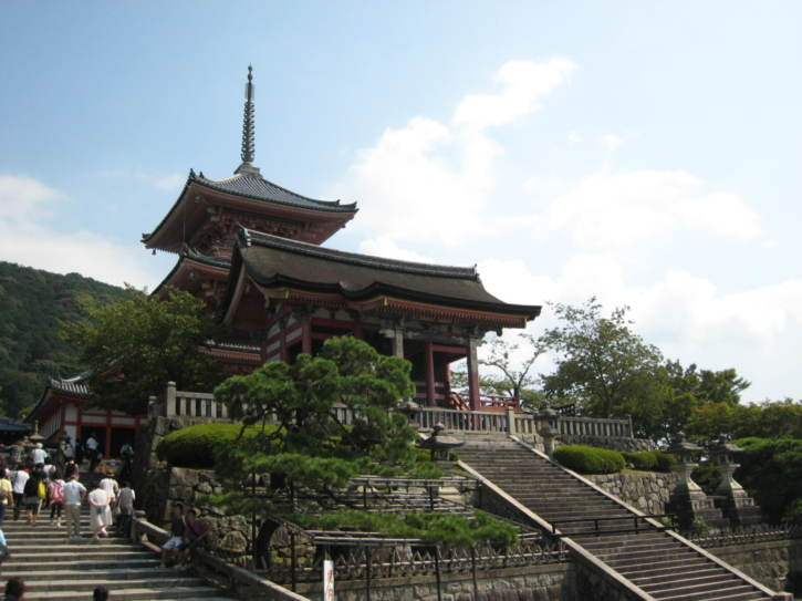 Building at Kiyomizu-dera temple