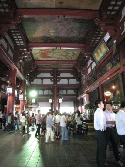 Inside Senso Temple