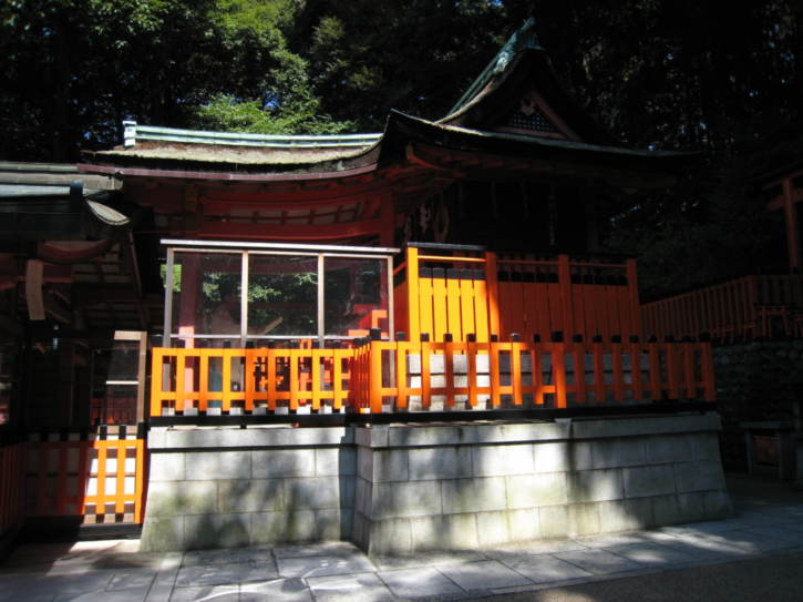 Fushimi-Inari shrine building