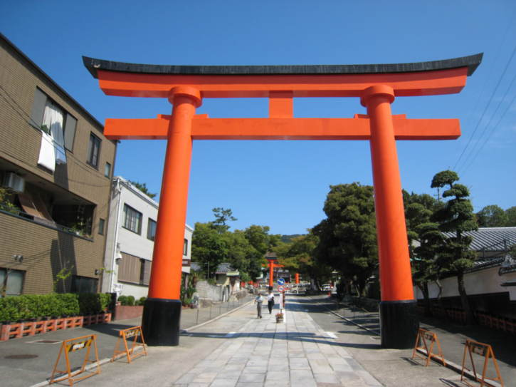Gate of the Fushimi-Inari shrine