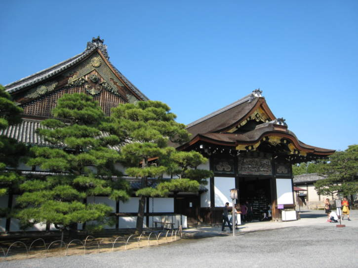 Nijo Castle buildings