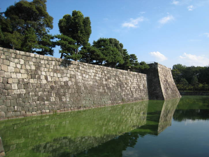 Moat at Nijo Castle