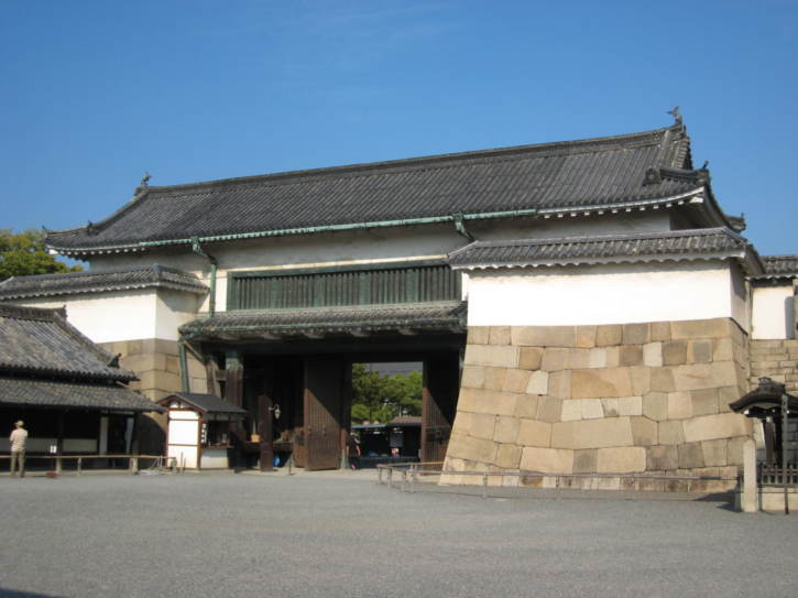 Nijo Castle gate