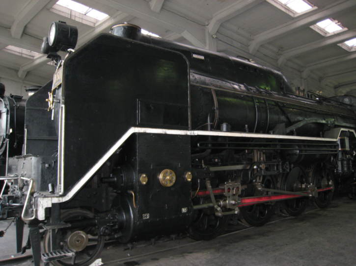 Locomotive at the museum