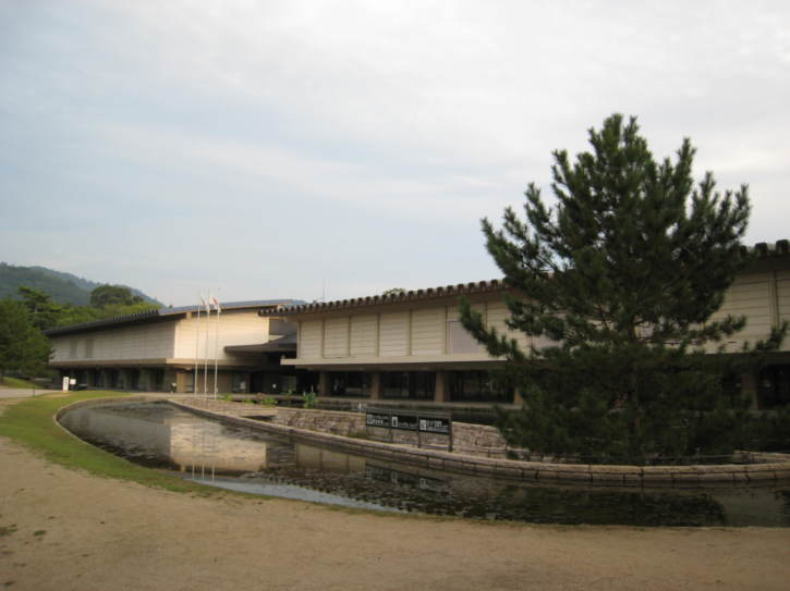 New wing of the Nara National Museum