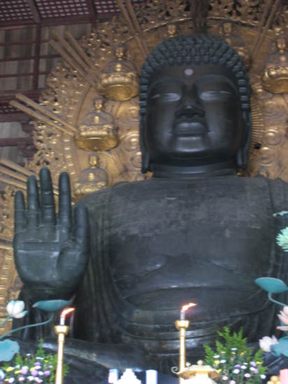 Buddha in Todai Temple