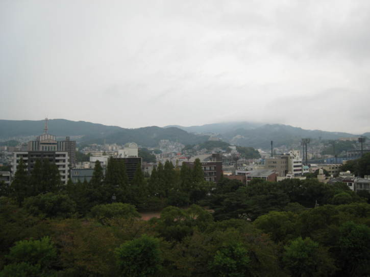 View over Nagasaki
