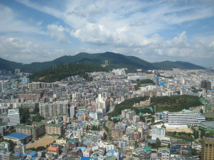 View from Busan Tower