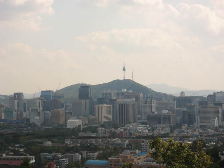 View towards central Seoul