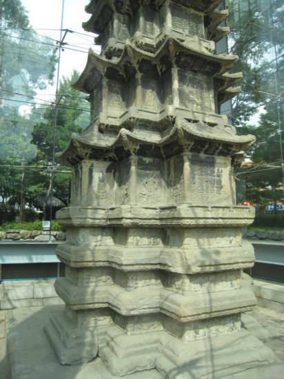 Ten Story Stone Pagoda of Wongaksa Temple