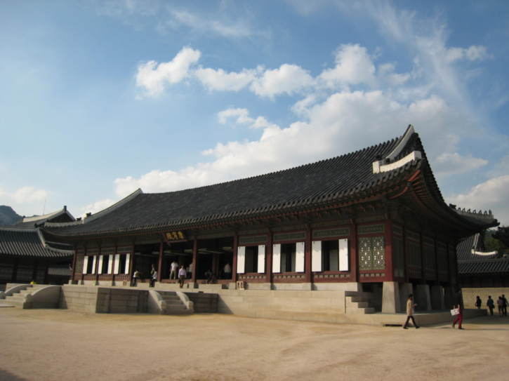 Gangnyeongjeon Hall at Gyeongbokgung Palace