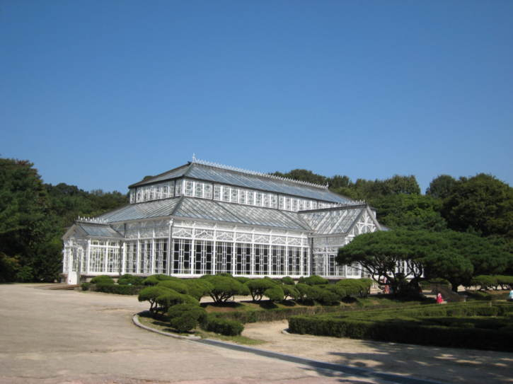 Greenhouse at Changgyeonggung Palace