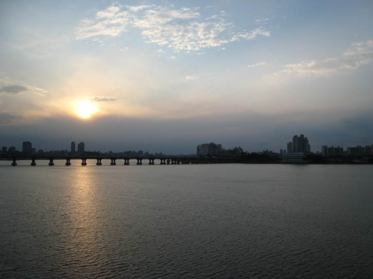 View from bridge over the Han River