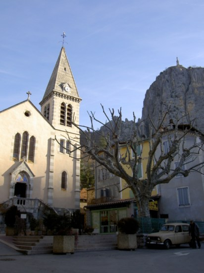 Both of Castellane's churches