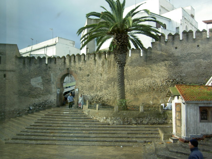 An entrance to the old city