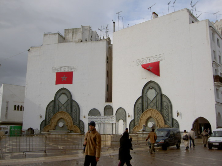 A Jewish synagogue - religions co-exist peacefully in Morocco