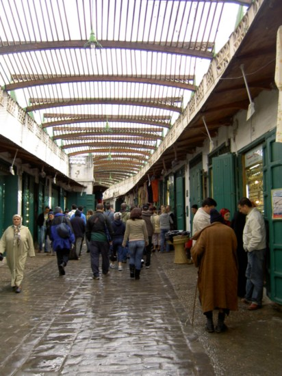 A street that, amongst the poverty, was full of shops selling gold