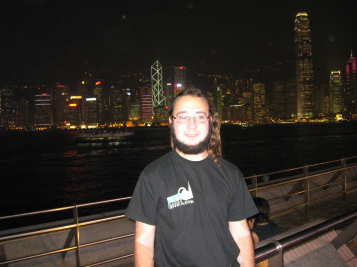 Me in Hong Kong