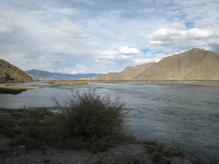 By the Lhasa River