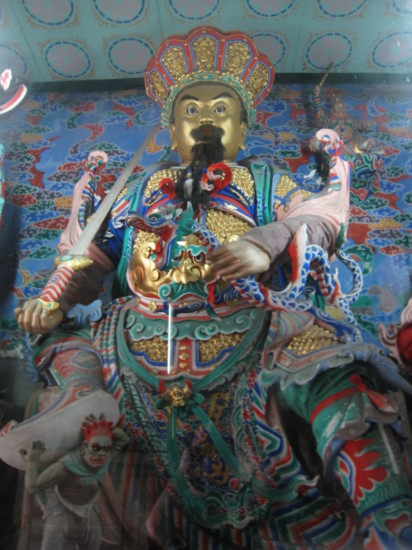 One of the Wenshu Temple's guidance kings