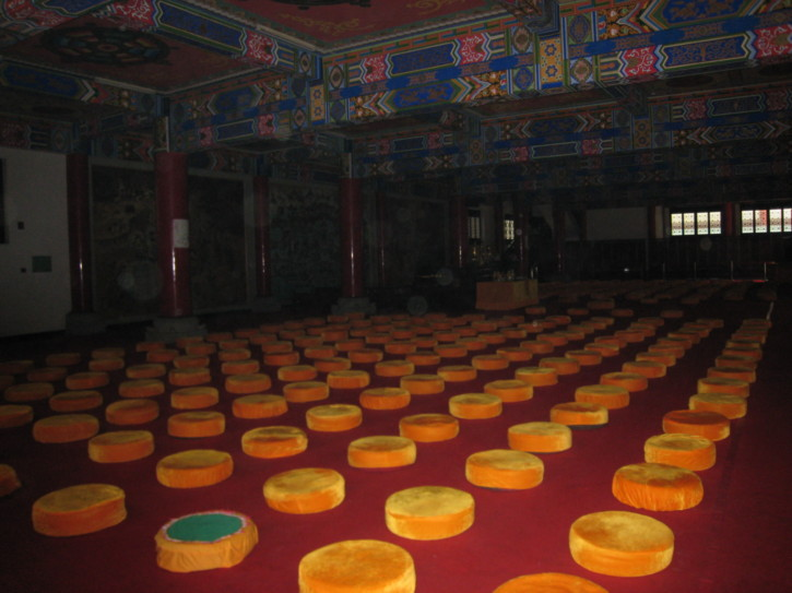 Assembly room of the Wenshu temple
