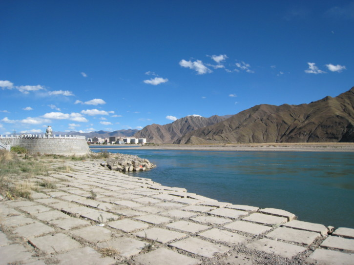By the river Lhasa