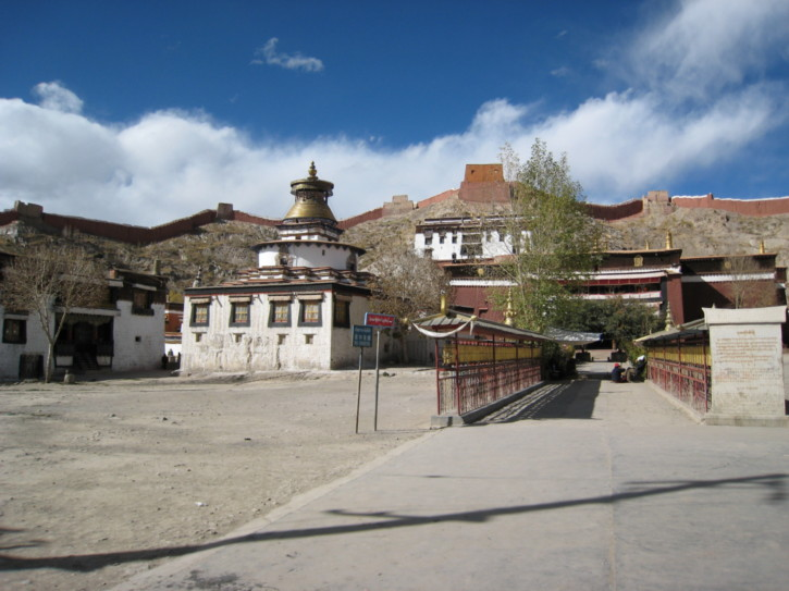 View of the monastery