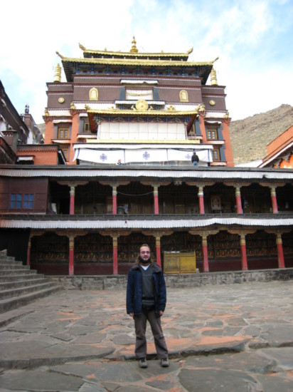 Me in front of the temple