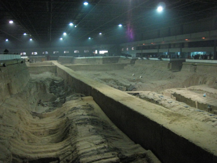 In the second pit