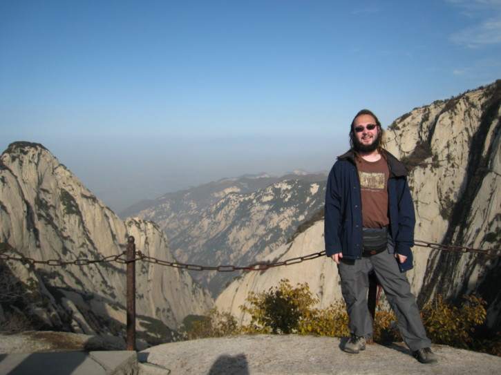 Me at Hua Shan