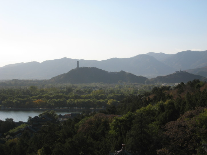 View from the Tower Of Buddhist Incense