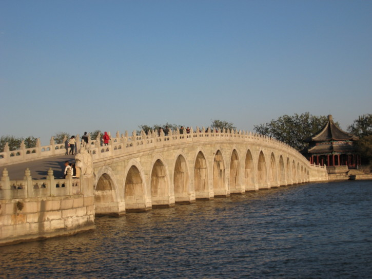 The 17-arch Bridge