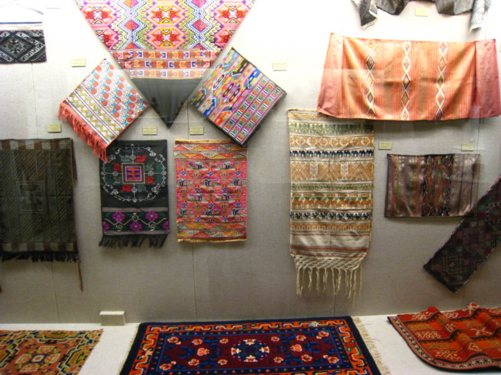 Ethnic rugs and tapestries in the Shanghai Museum