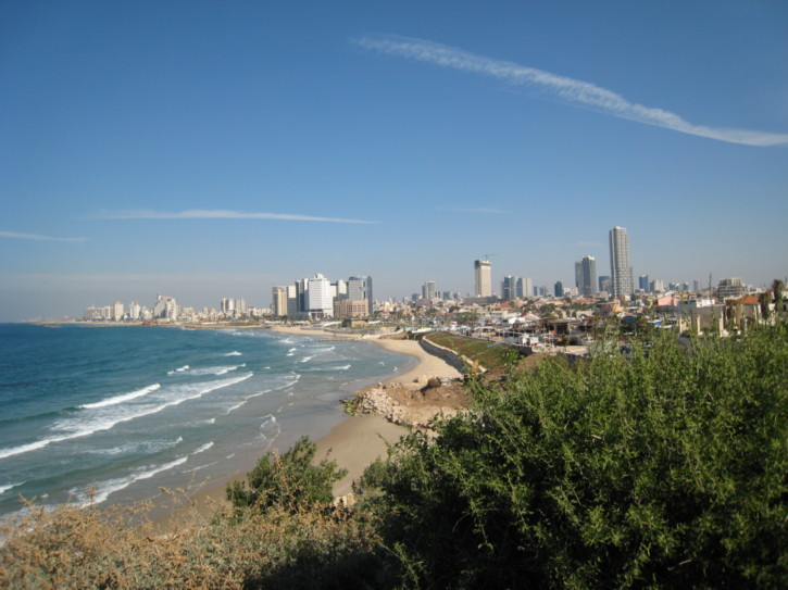 Looking to Tel Aviv