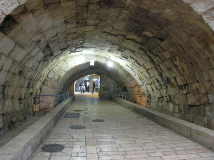 Tunnel by the Western Wall