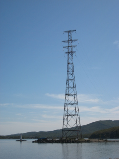 Huge pylon