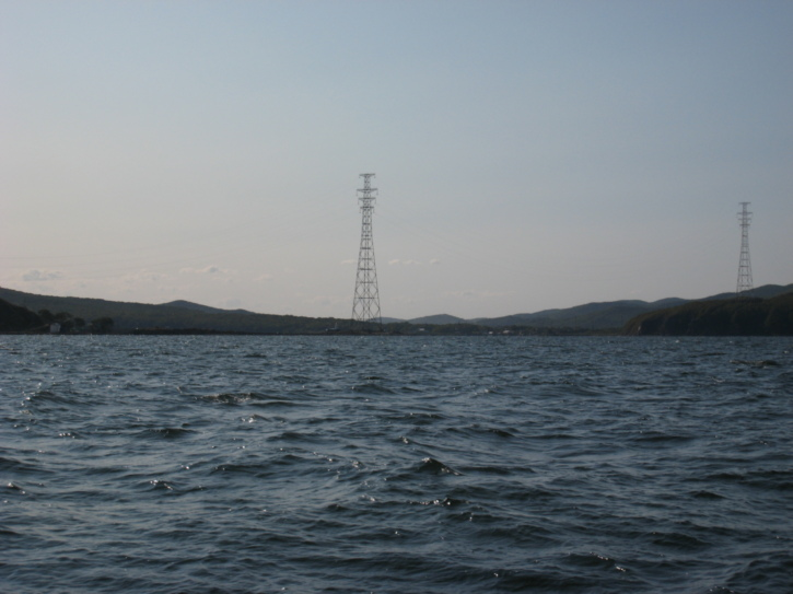 Hills and pylons