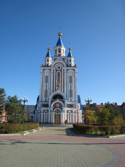 Church on Komsomol Square