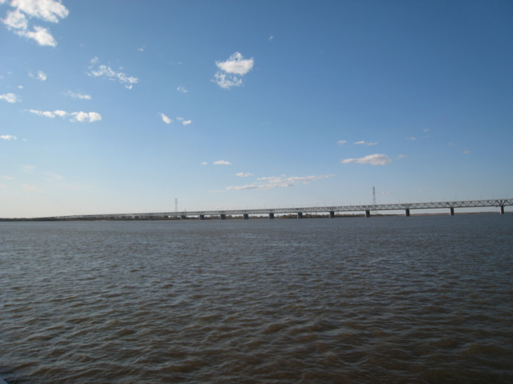 Bridge over the Amur