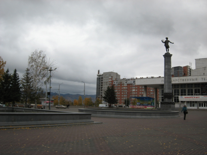 On the central square