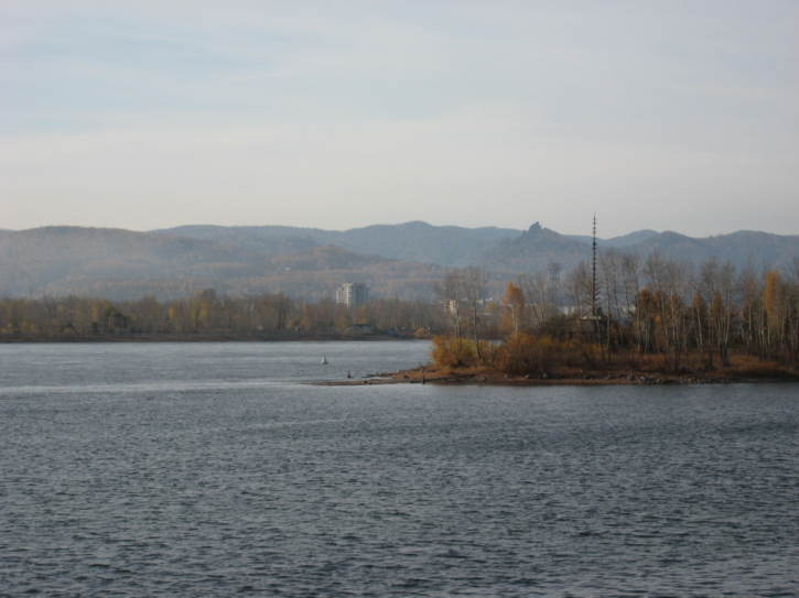 The Yenisey river
