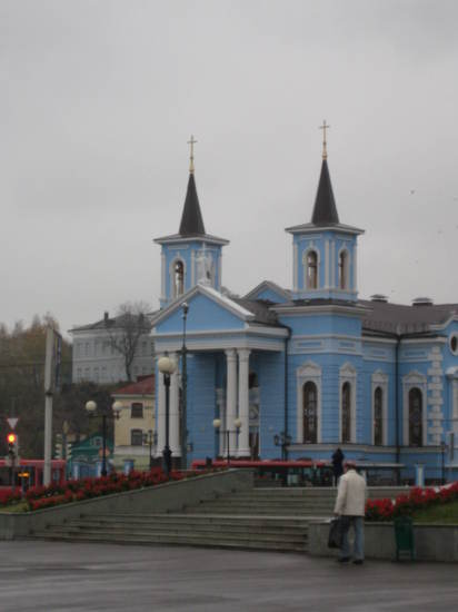 Church on Pushkin Street