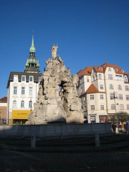 Parnas fountain on Zelný trh