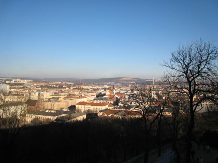 View from the castle grounds