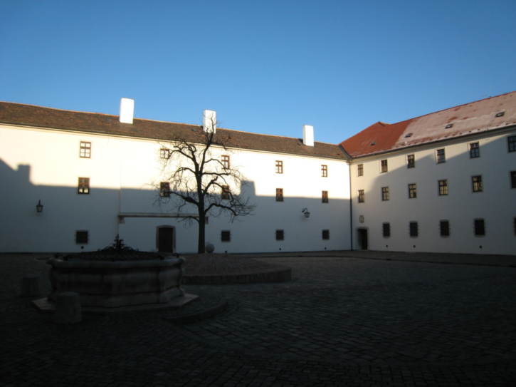 Courtyard of Špilberk Castle