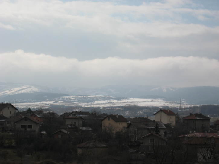 Views of a village near Sofia