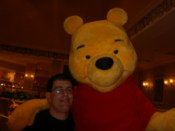 Gary with Pooh